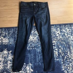 PREOWNED EXPRESS MID RISE LEGGING JEANS 8 REGULAR